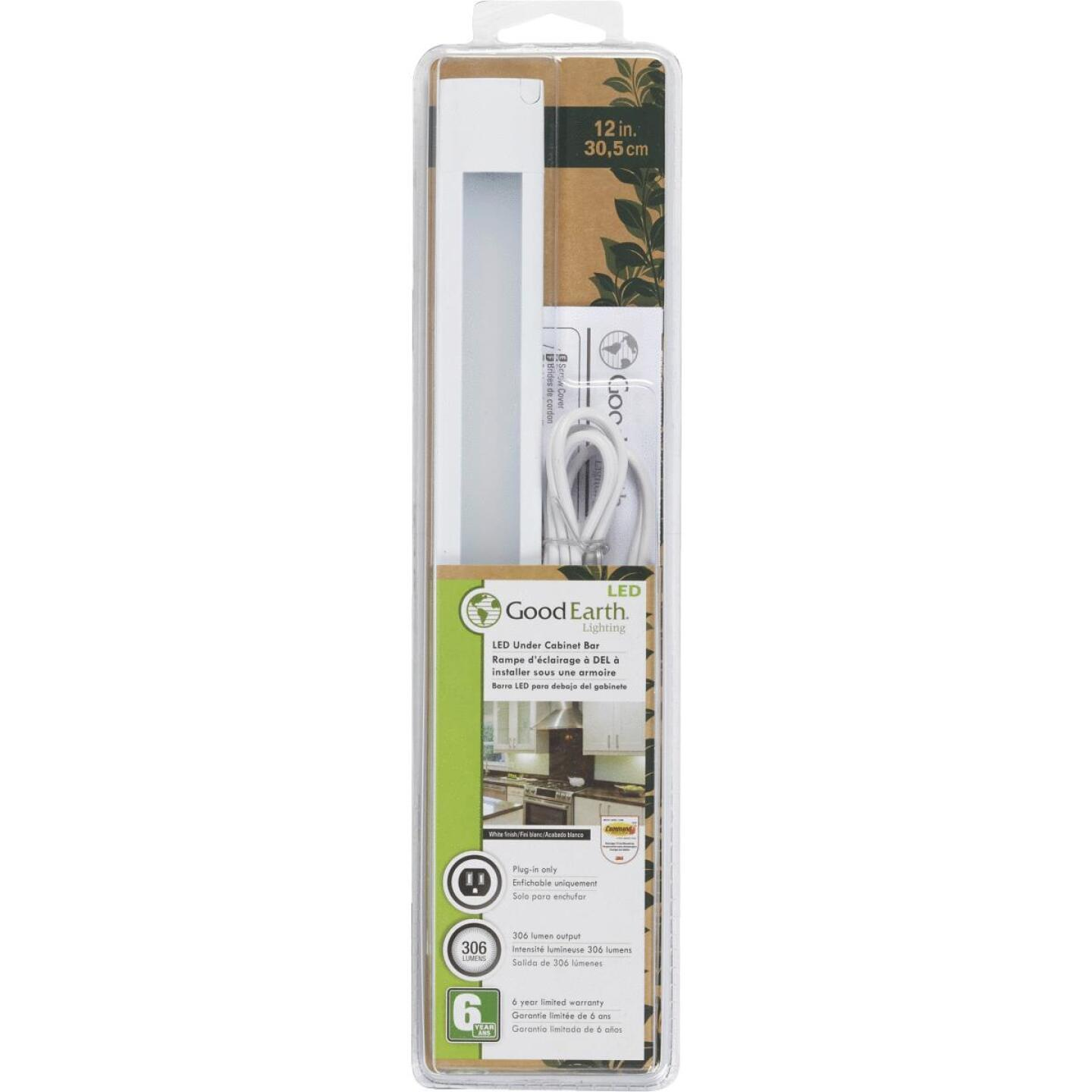 promo code 6832b 60aef Good Earth Lighting 12 In. Plug-In White LED Under Cabinet ...