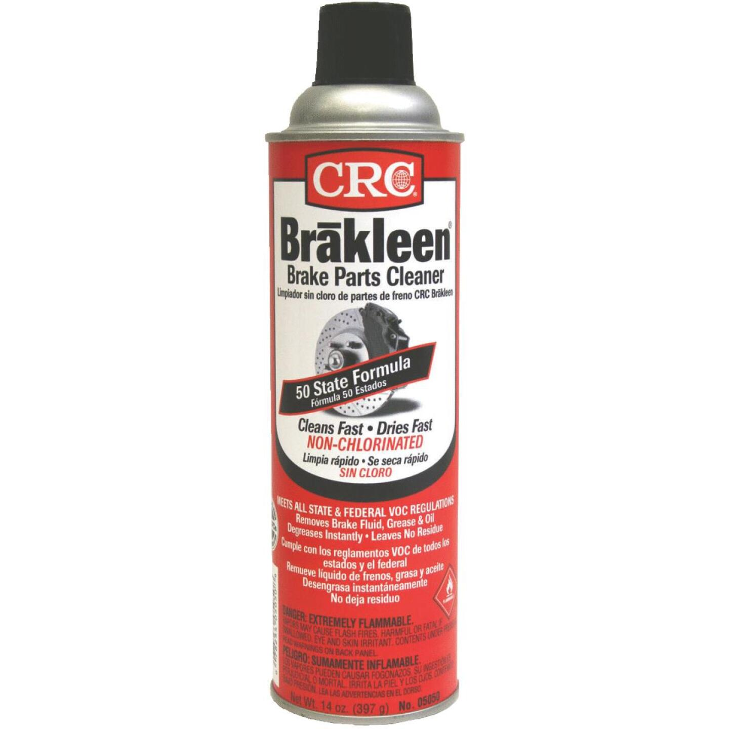 CRC Brakleen Nonchlorinated Aerosol 14 Oz. Brake Cleaner Image 1