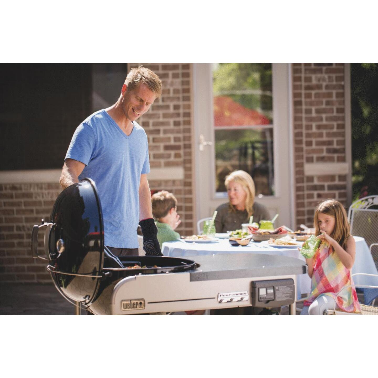 Weber Performer Deluxe 22 In Black Charcoal Grill